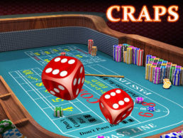 Online Craps Guide - Image of Craps Game in Action